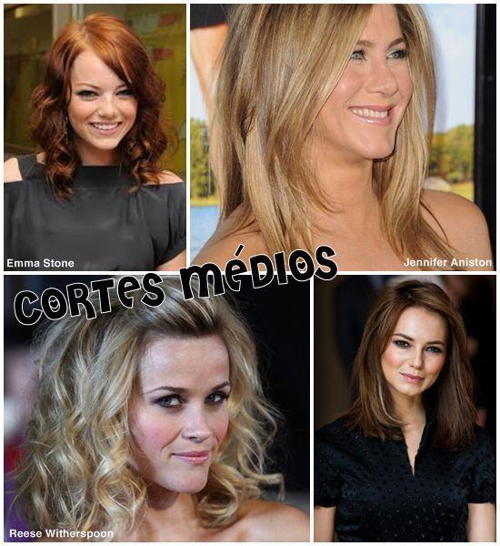 Tendência para o verão 2014 - cortes de cabelo médio! lindos