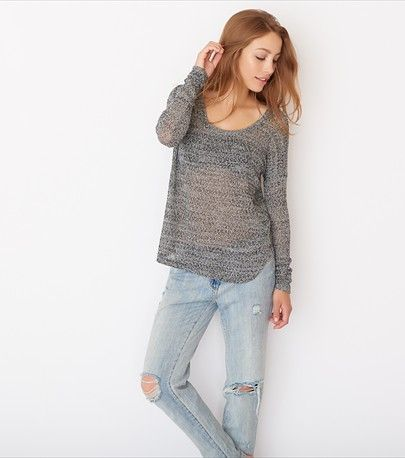 Light Boat Neck Sweater