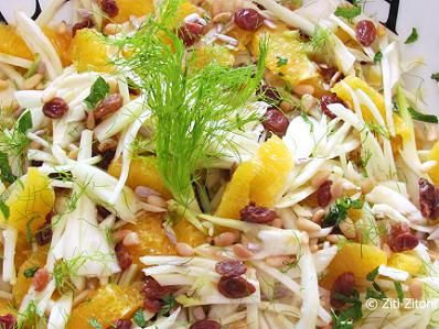 venkel sinaasappel salade, Italiaanse recepten www.zitizitoni.nl