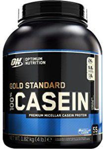 Gold Standard Whey - Optimum Nutrition Gold Standard 100% Casein Protein Powder, Chocolate Supreme, 4 Pound