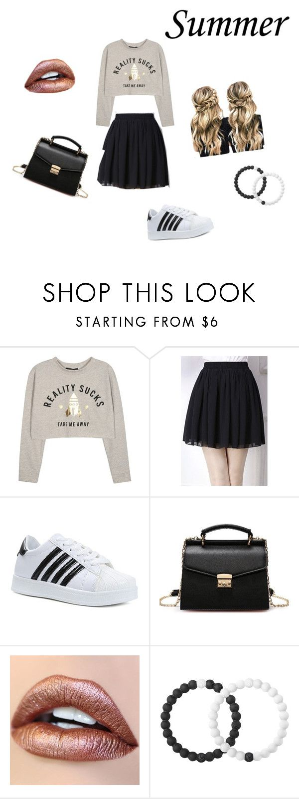 """""""Summer"""" by fantasy-cat-16 on Polyvore featuring WithChic and Lokai"""