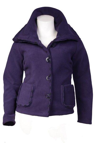 Boris Industries fleece jasje steken. #fleece #jas #paars http://www.borisindustries.nl/boris-industries-fleece-jasje-steken