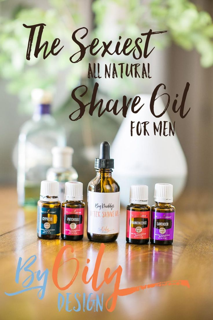 How to make the sexiest natural shave oil for a more attractive and manly face.