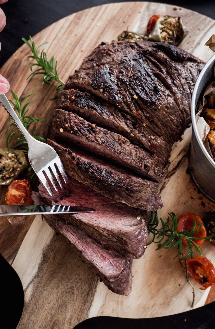 Santa Maria Steak mit knusprigen Süßkartoffel-Wedges | Steak richtig zubereiten