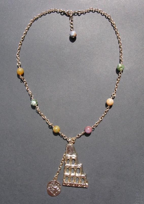 Aeternitas necklace. Mirko Clementi Colossevm Collection