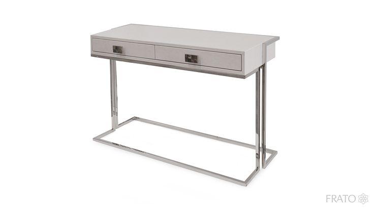 JASPER Console | Frato Interiors #modern #console #InteriorDesign #wood #StainlessSteel #Furniture