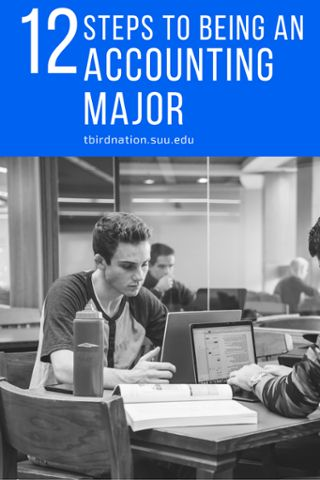 12 steps to being an Accounting Major