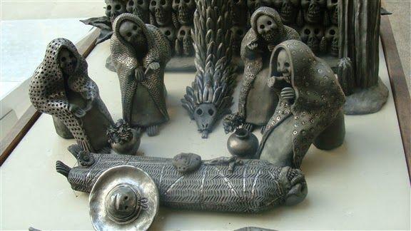 ¡Это всё Мексика!: Керамика из черной глины (Оахака)