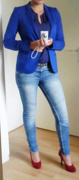 Casual Friday: jasje; WE, shirt; zeeman, broek;primark