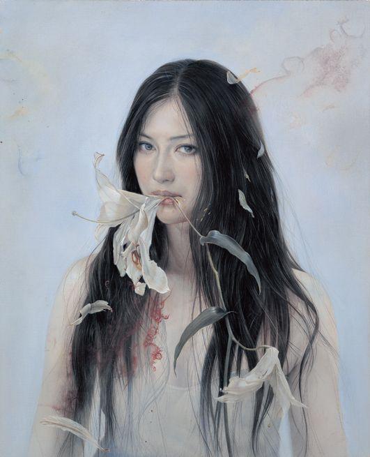 諏訪敦「花を食べる」− Atsushi Suwa