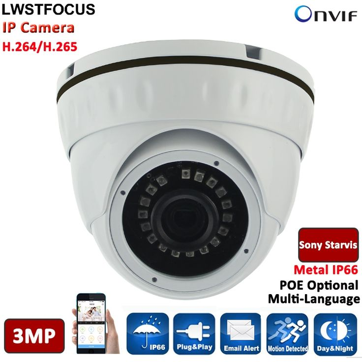 56.36$  Buy here - http://aliff5.worldwells.pw/go.php?t=32773674339 - Hot H.265 3MP IP Camera 3MP Dome Camera LWIRDNS300 3.6MM Lens 1080P PoE CCTV IP Camera Outdoor Multi-language Dome CCTV Camera