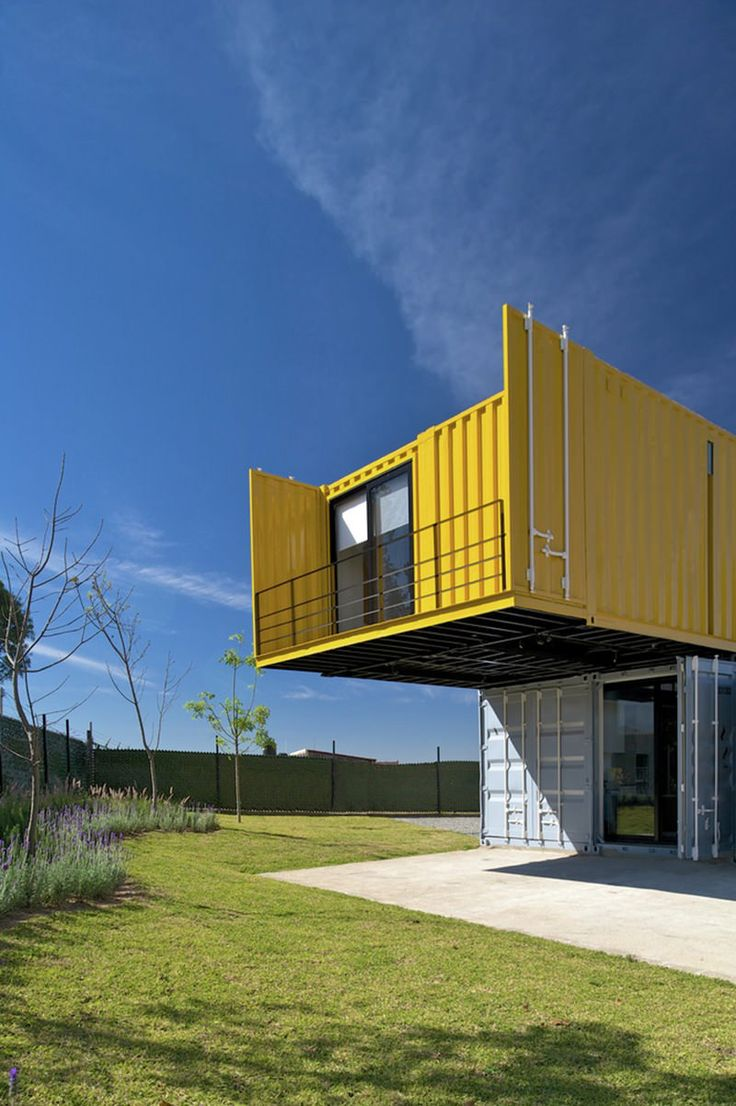 253 best CONTAINER- Haus images on Pinterest | Small houses ...
