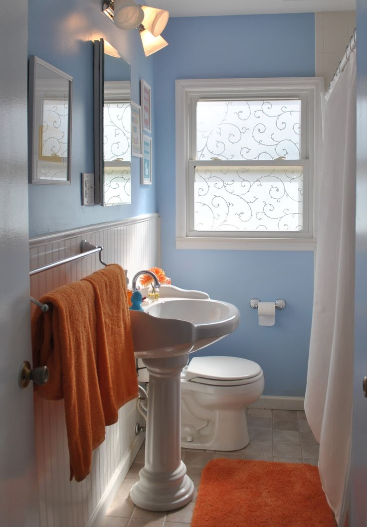 25 Best Ideas About Orange Bathrooms On Pinterest