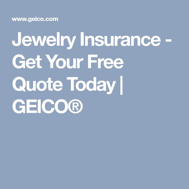 Jewelry Insurance - Get Your Free Quote Today | GEICO®