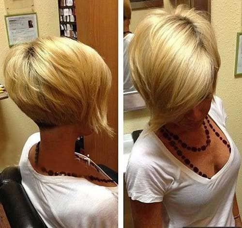 Stacked Bob Haircut | Bob Hairstyles 2015 - Short Hairstyles for Women