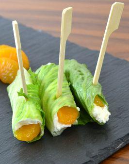 SALARICO-RÖLLCHEN MIT FRISCHKÄSE UND MANDARINE - Zutaten für 4 Personen: 1 SalaRico, 1 kleine Dose Mandarinen, 1 Packung Frischkäse. Hier geht's zur Zubereitung: http://behr-ag.com/de/unsere-rezepte/rezeptdetail/recipe/salarico-roellchen-mi.html
