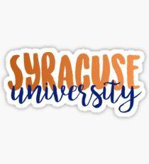 Syracuse University Sticker