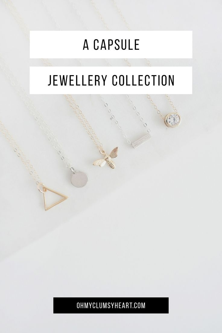 Capsule Jewellery Collection. These are the jewellery staples we believe every woman should own.
