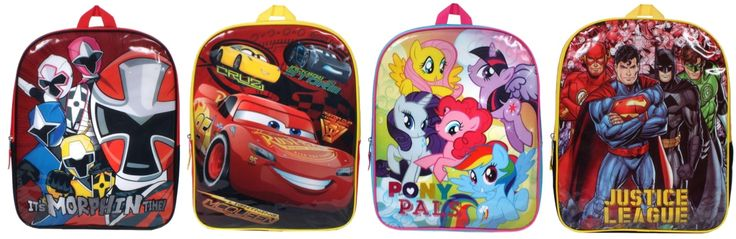 Toys R Us: Backpacks Only $2.48 + FREE Lunch Kit *Power Rangers, Cars, My Little Pony, & Super Heroes* - https://swaggrabber.com/?p=334378