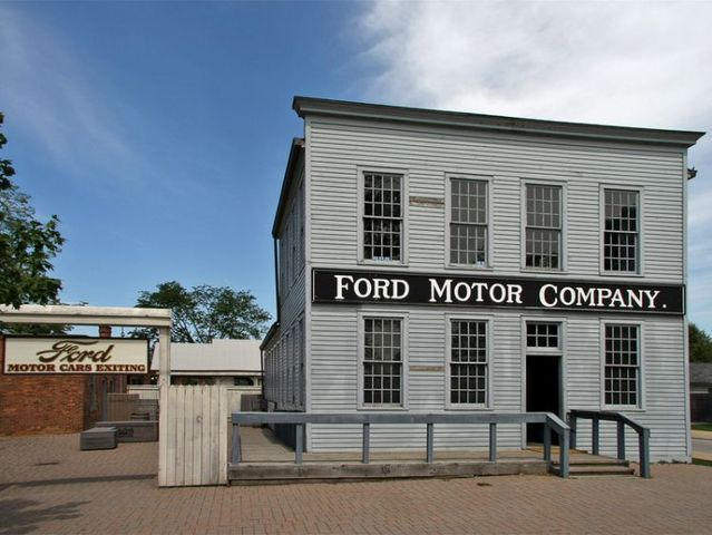 17 best images about the henry ford and greenfeild for Ford motor company detroit mi