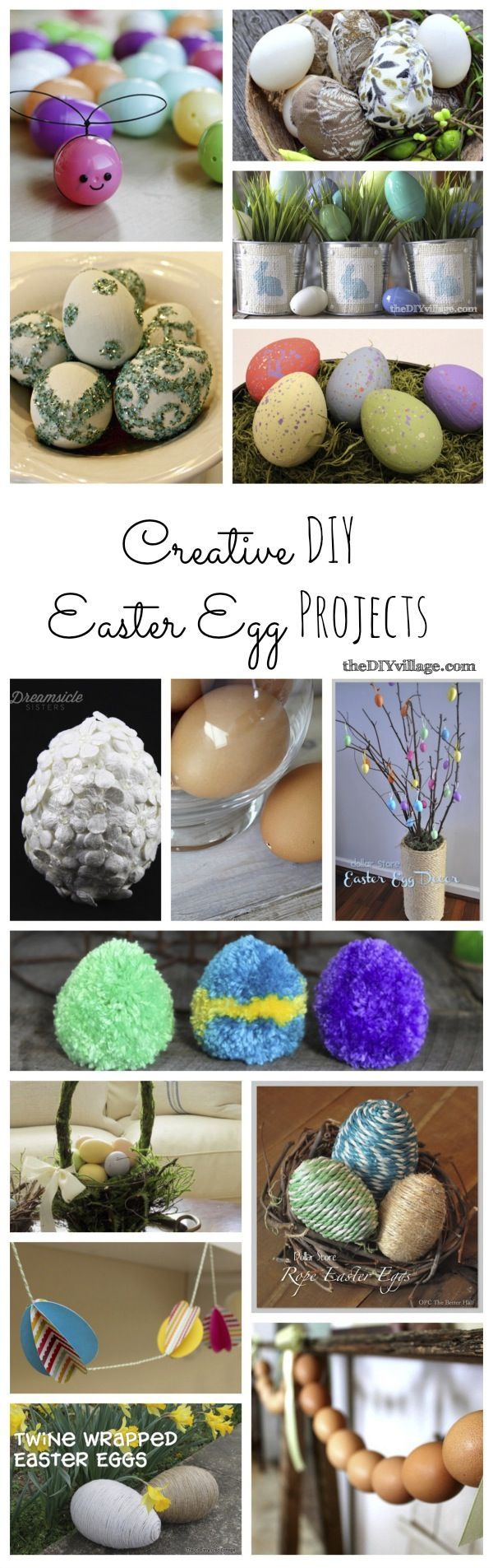 Creative DIY Easter Egg Projects for Spring!