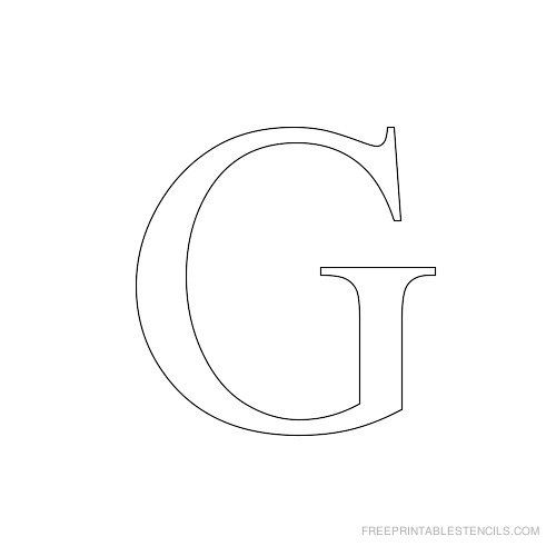 free alphabet stencils to print - Ecosia