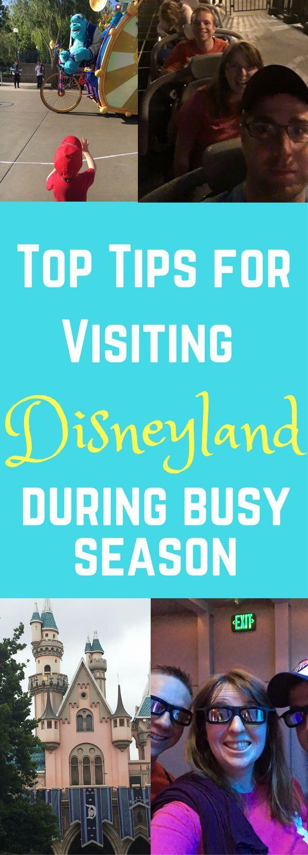Disneyland / Disneyland Tips / Tips for Visiting Disneyland / Disneyland During the Summer / Best times to visit disneyland / disneyland advice / disneyland secrets / disneyland california / disneyland | tips, tricks & secrets