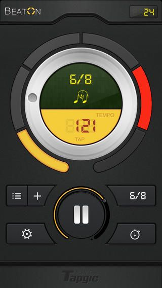 Beat On - Advanced Metronome with Training Modes (via AppCrawlr)