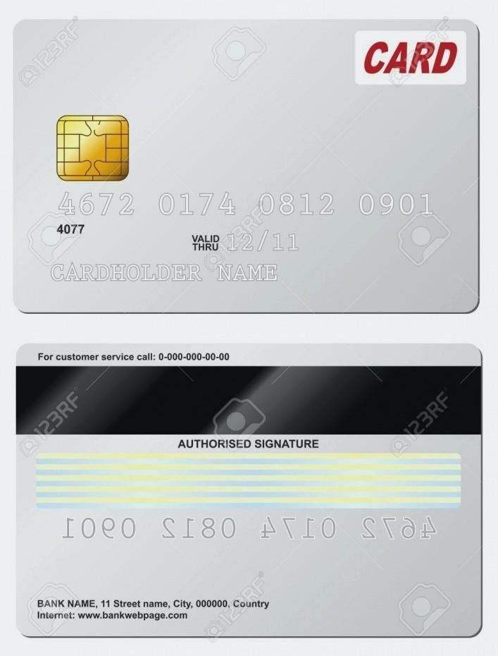 Blank Credit Card Template Beautiful Full Size Fake Credit Card Template Bill Awesome Card Template Credit Card Design Credit Card