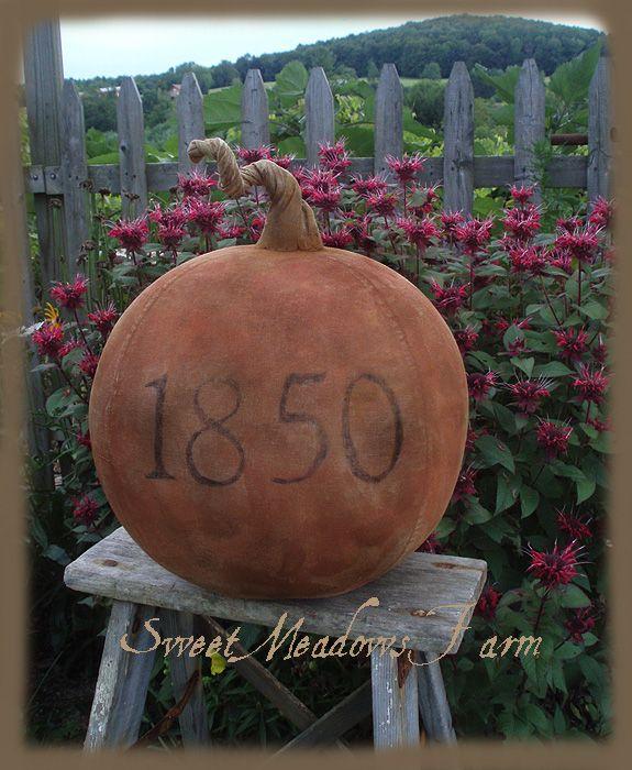 Huge Pumpkin pattern.