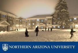 Northern Arizona university - Flagstaff - they get lots of snow