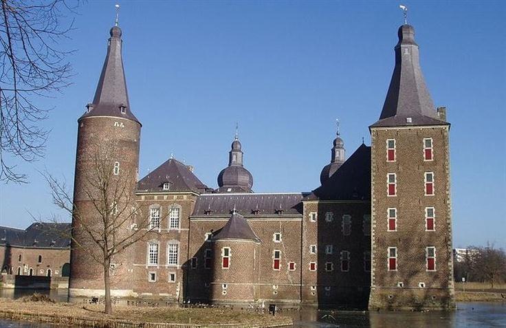 Kasteel Hoensbroek, Heerlen, Limburg, Nederland