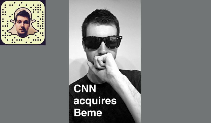 Beme acquired by CNN & the mobile video landscape