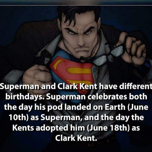 A few kickass superhero facts to help jumpstart your day (29 Photos)