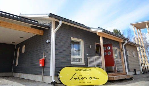 Ainoakoti Hauhaus Jyväskylän asuntomessut 2014. www.k-rauta.fi Jyväskylä Housing fair 2014