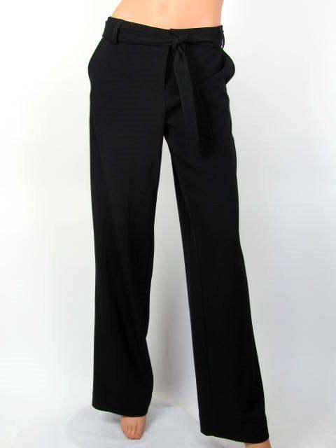 CALVIN KLEIN Pants 8 Black Trousers Womens CAREER Slacks #CalvinKlein #DressPants