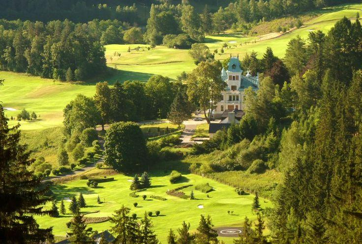 Art-hotel Royal Golf - Bečov nad Teplou www.royalgolf.cz Hotel 4*
