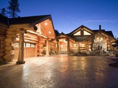 Mt Shasta Majestic Retreat - Luxury Log Home w/Spectacular ...