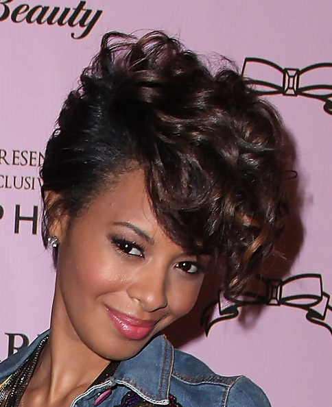 Ringlets on #VanessaSimmons are soft and supercute!