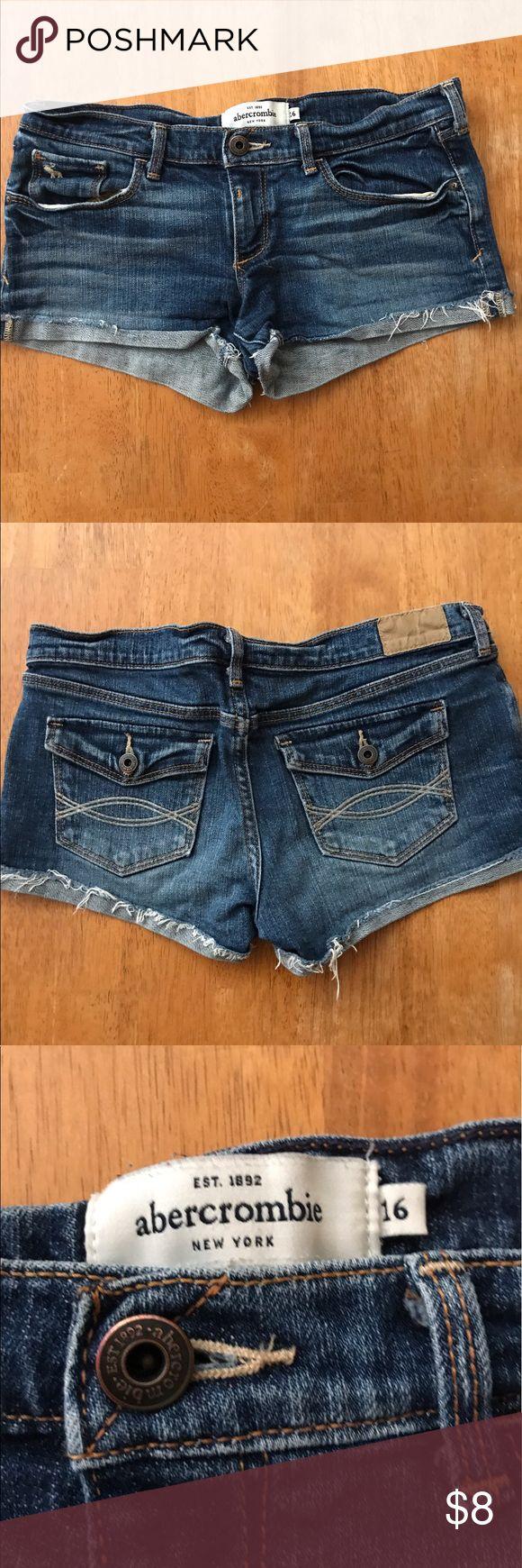 Abercrombie Jeans Shorts size 16 Good condition Abercombie Kids Shorts Jean Shorts