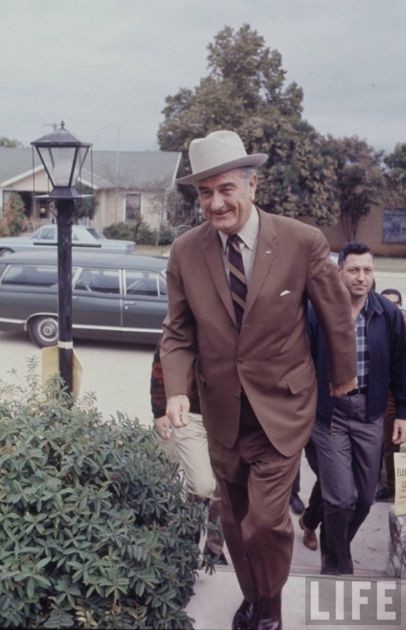 LBJ Wearing The Stetson Open Road Hats Pinterest