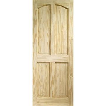 Image of Rio 4 Panel Clear Pine Door