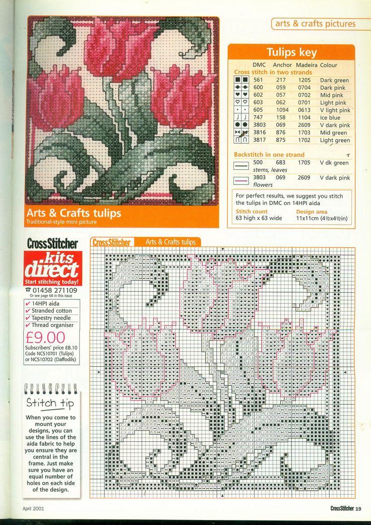 CrossStitcher 107 апрель 2001