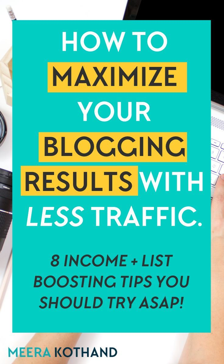 Think your blog is doomed if you have less traffic? It's not the end of your blog if you follow these 8 simple steps to get more out of the little traffic you have. You'll see your income and email list soar even with less than 20k page views. You have to try #4! #blogging #traffic #bog #pageviews #income