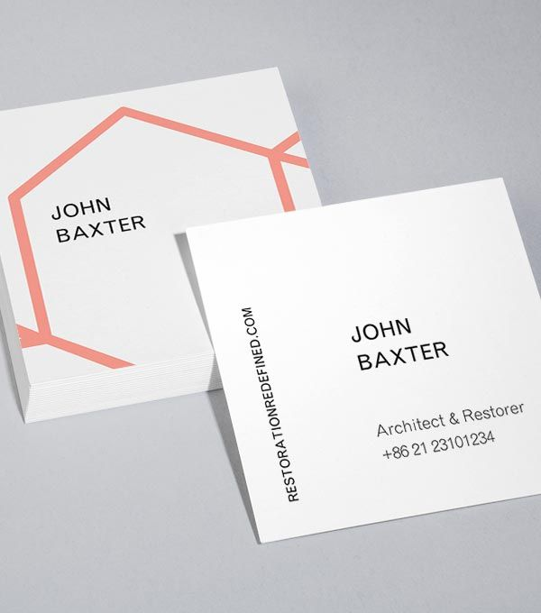 Business Card Designs Moo United States Graphic Design Business Card Square Business Cards Business Card Template Design