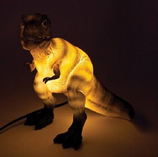 Tyrannosaurus Rex Dinosaur Table Lamp LED Kitsch Cute Novelty Night Light T-rex #Unbranded #Contemporary