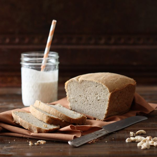 An almond and coconut bread recipe featuring coconut milk.