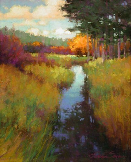 "Autumn's Palette by Teresa Saia Pastel ~ 20"" x 16"""