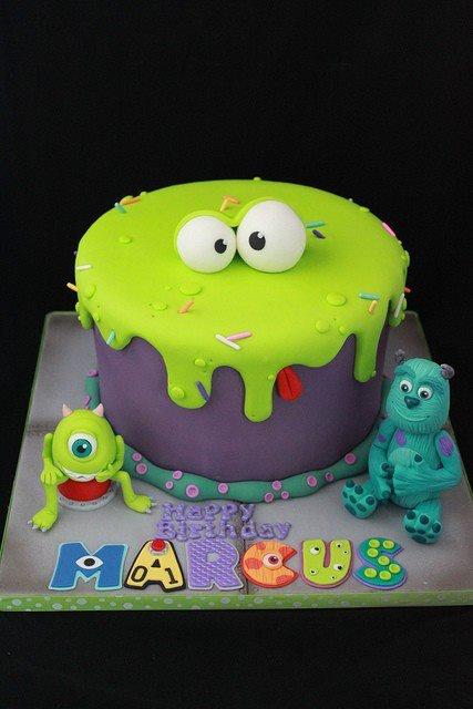 monsters en co taart