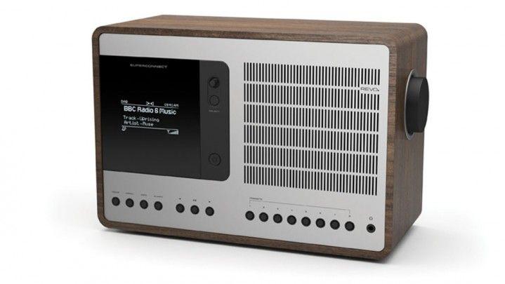 DAB Radio SuperConnect / REVO - DAB, DAB+, FM RDS - Distinction/Auszeichnung: Red Dot (2014)